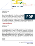 20th January,2014 Daily Global & Oryza Exclusive News by Riceplus Magazine