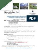 2014 Discover Ireland Fact Sheet