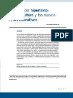 105387003 Mas Alla Del Hipertexto Los Retos Educativos de La Cibercultura