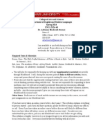 ENGL 3326 SP 2014 Advanced Expository Writing Syllabus