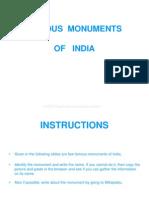 LP 33 Famous Indian Monuments
