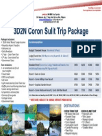 Tour Package - Coron, Palawan, Philippines