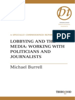 Lobbying and the Media, Working With Politicians and Journalists