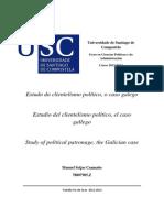 Estudo do clientelismo político; o caso galego