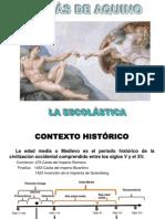 TOMÁS DE AQUINO Y LA ESCOLÁSTICA