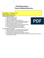 Data Team Fishbowl Readiness Document