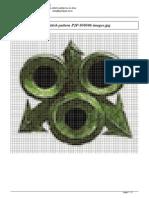 nurgle icon cross stitch pattern