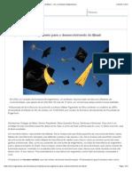 A importância do engenheiro para o desenvolvimento do Brasil