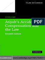 Atiyahs Accidents and Compensation