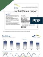 Austin Real Estate Market Statistics for April 2009