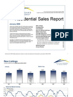 Austin Real Estate Market Statistics for Janurary 2009