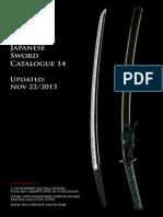 14 Japanese Sword Catalogue Unique Japan Sale