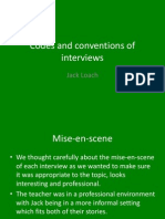 Interview Conventions