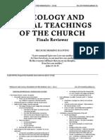 Theology Class Notes (Fr. Lito Mangulabnan)