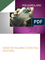 Poluarea Apei 2003