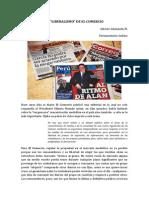 EL LIBERALISMO DE EL COMERCIO. ALBERTO ADRIANZÉN M