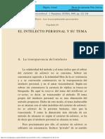 Antropología trascendental 1 - Tercera Parte - Capítulo II