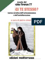 Cerchio Firenze 77 - Conosci Te Stesso
