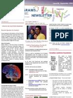 UBC Peer Programs Newsletter - Issue 6 - September 2009