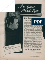 AMORC - In Your Mind's Eye (Ad 1951)