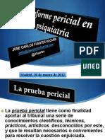 Conferencia Informe Pericial Psiquiatrico