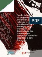 evidencias programas de prevención de la violencia