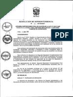 Mercancias y Comision de Supervision