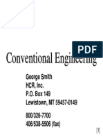 Conventional Engineering - Refrigerated Warehouses