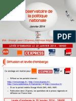 Baromètre BVA - Presse Régionale - janvier 2014