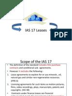 IAS17Leases IAS 17 Leases