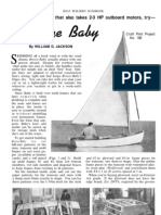 Breeze Baby Sailboat Plans