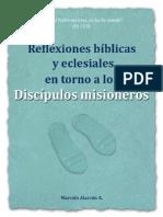 Reflexiones bíblicas Discipulos misioneros