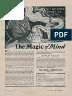 AMORC - The Magic of Mind (Ad 1952)