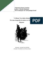 Alexandre Ferraz Herbetta - A Idioma dos índios Kalankó - por uma etnografia da música no Alto-Sertão Alagoano