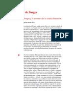 Borges y la cuarta dimensión- Rodolfo Mata