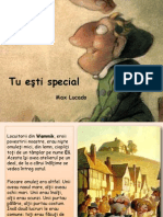 Tu Esti Special - Max Lucado