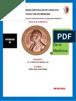 Premios Nobel de la medicina