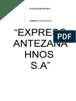 Antezana Plan Estrategico Huarac