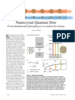 Nanocrystal Quandum Dots - From Fundamental Photophisic to Multicolor Lasing