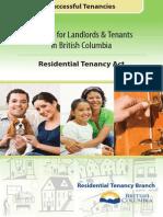 Residency Tenancy Act