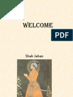 Shah Jahan Presentation