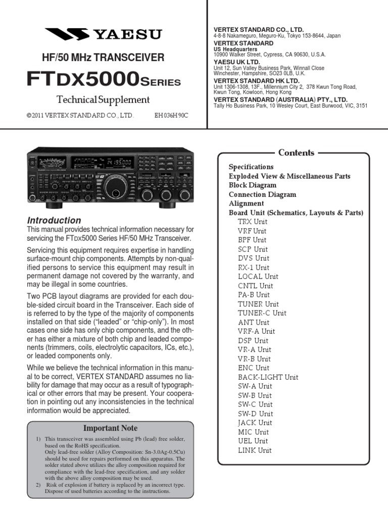 10 Wiring Diagram Yaesu Pa Completed Diagrams Speaker Free Download Schematic Ftdx5000 Sm 70v