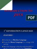 Core Java  - Demo