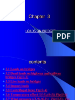 Chapter 3 Loads on Bridge (1)