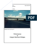 Cqfw - Performance Integral Abutment Bridges