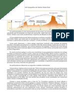 Perfil topográfico Galicia Oeste Este