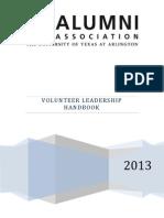 UT Arlington Alumni Association Chapter Handbook 2013