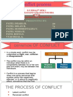 Conflict Process
