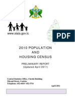 St Lucia Preliminary Census Report 2010