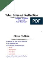 9-14 Total Internal Reflection